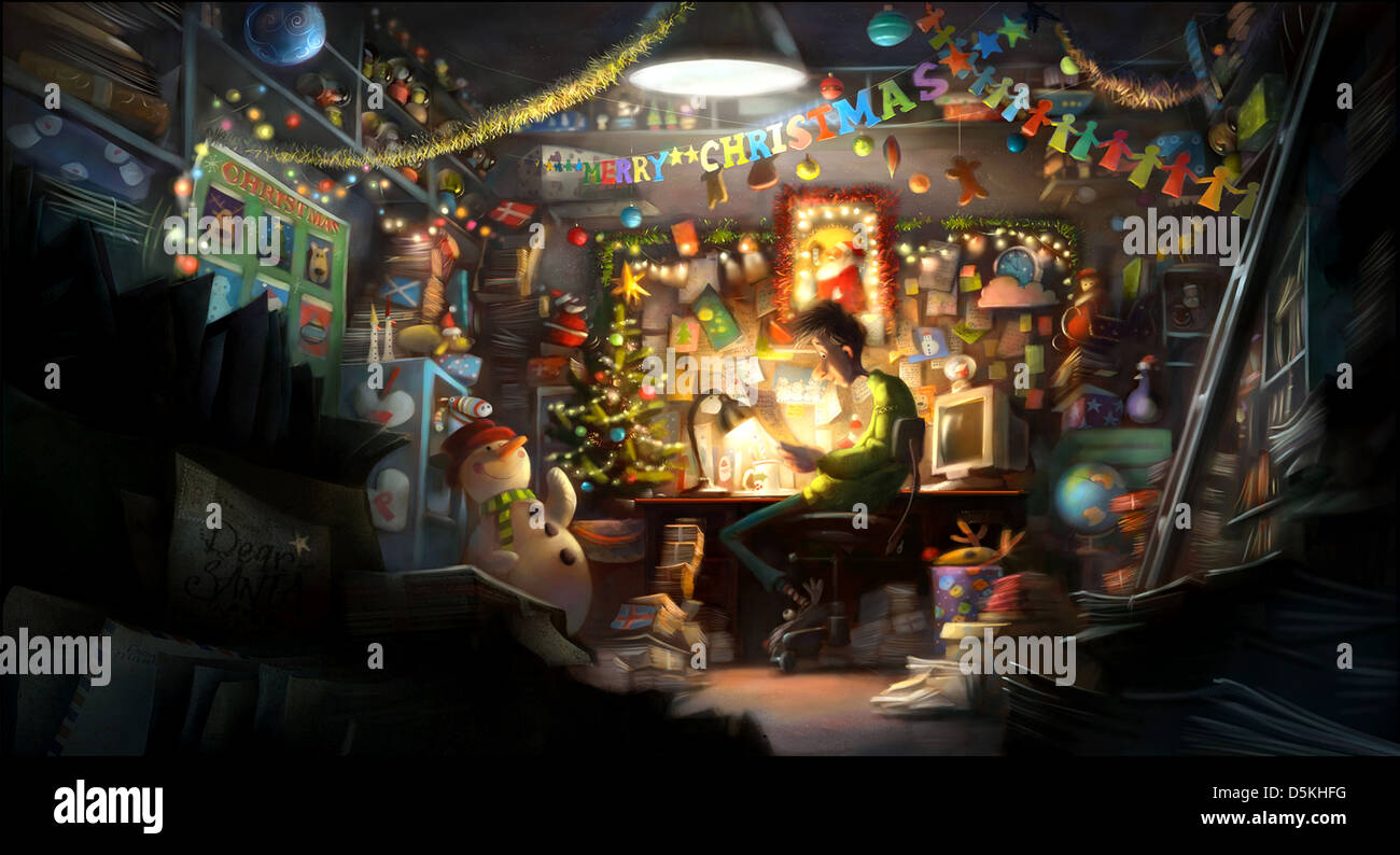 ARTHUR ARTHUR CHRISTMAS (2011 Stock Photo: 55135236 - Alamy