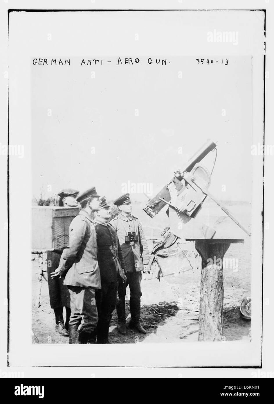 German Anti-aero gun (LOC) - Stock Image