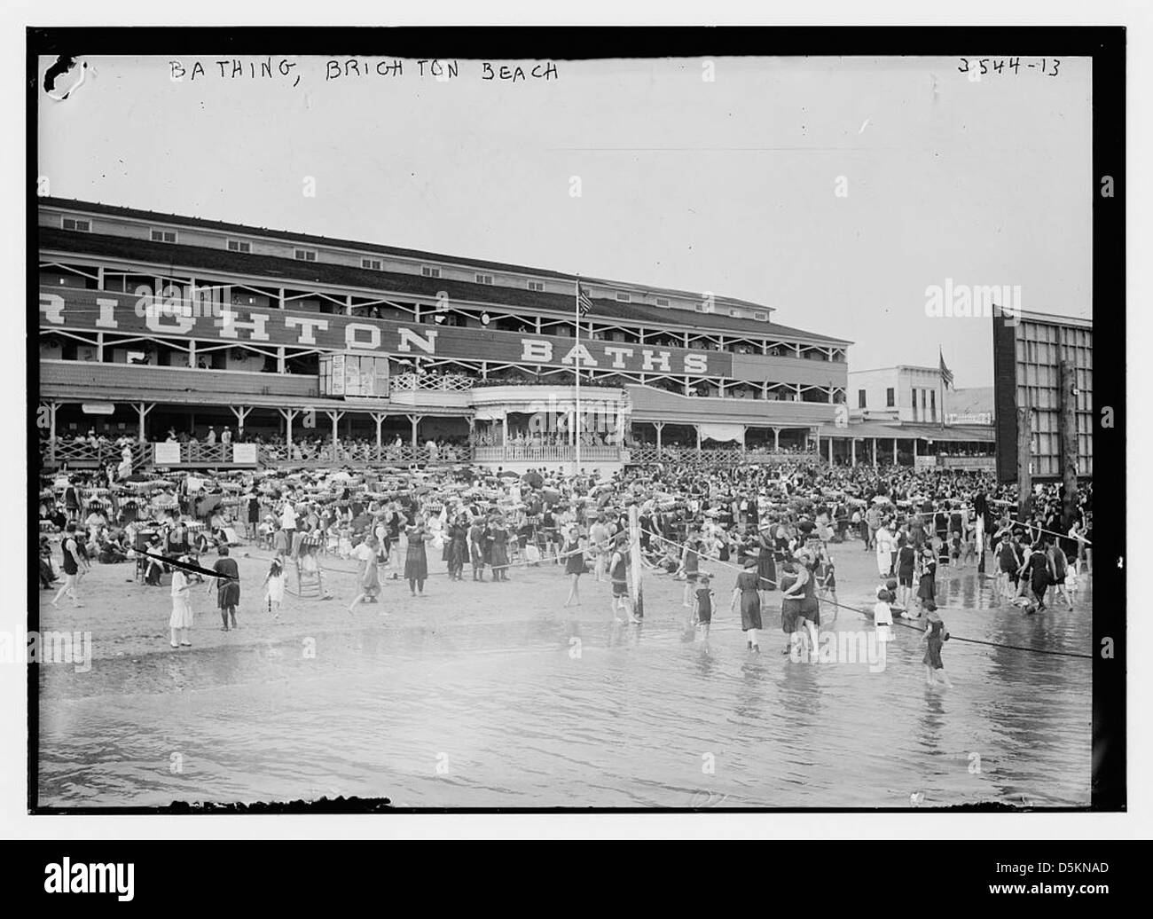 Bathing beach black and white stock photos images alamy for Hotels near portrush with swimming pool