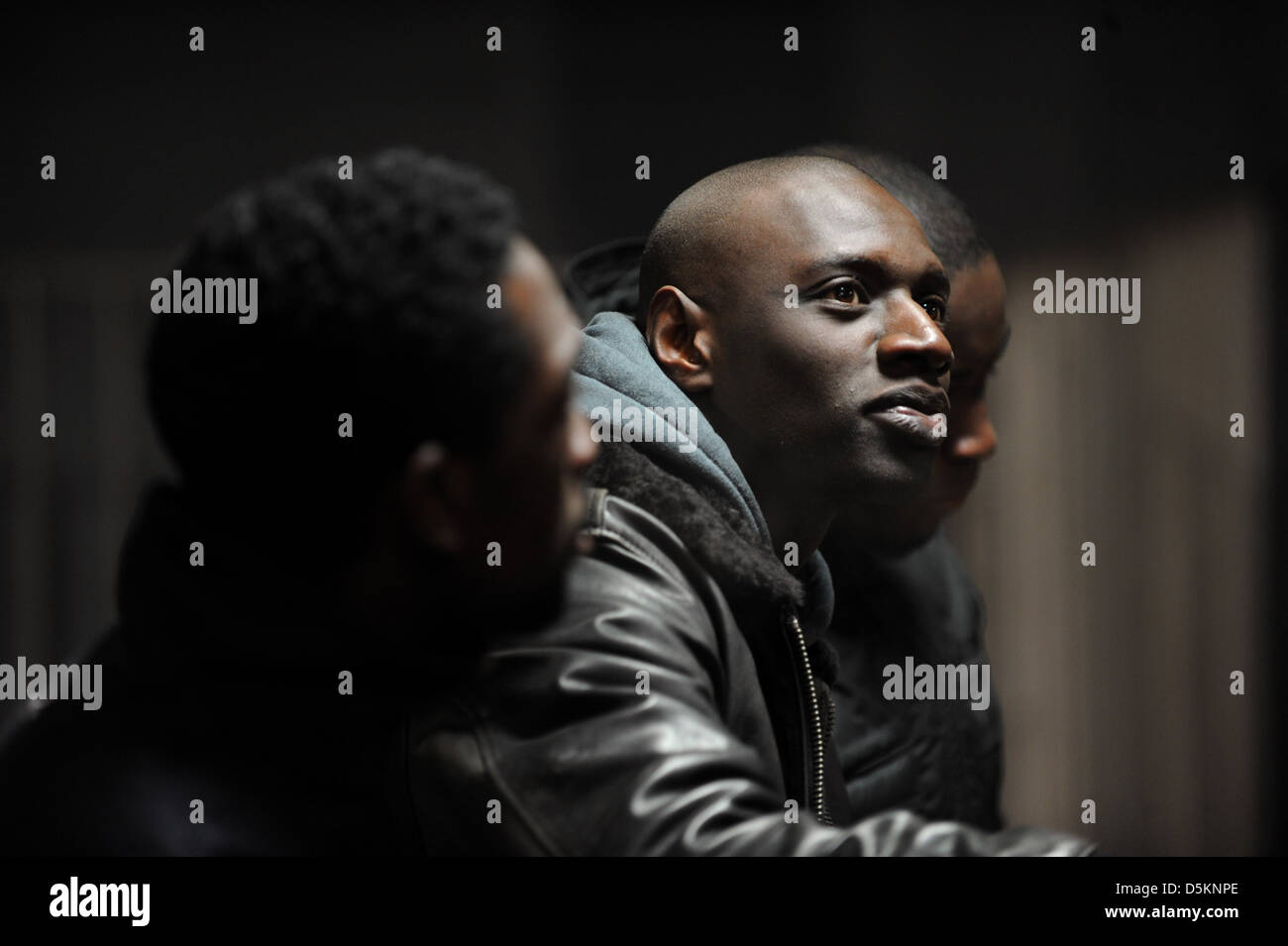 OMAR SY INTOUCHABLES ; UNTOUCHABLE (2011) Stock Photo