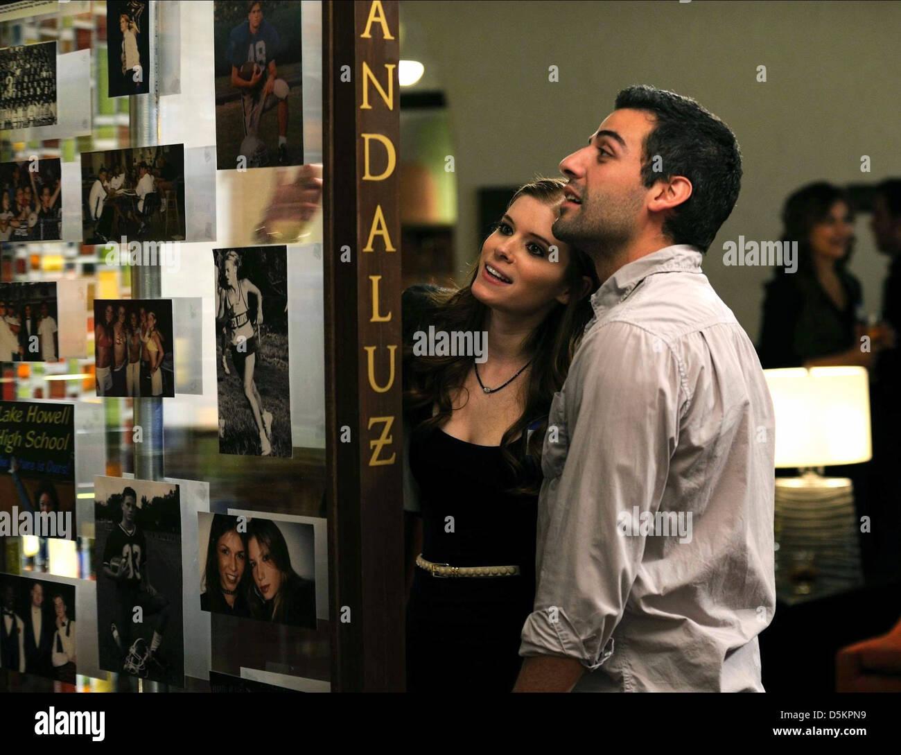 KATE MARA & OSCAR ISAAC 10 YEARS (2011) - Stock Image