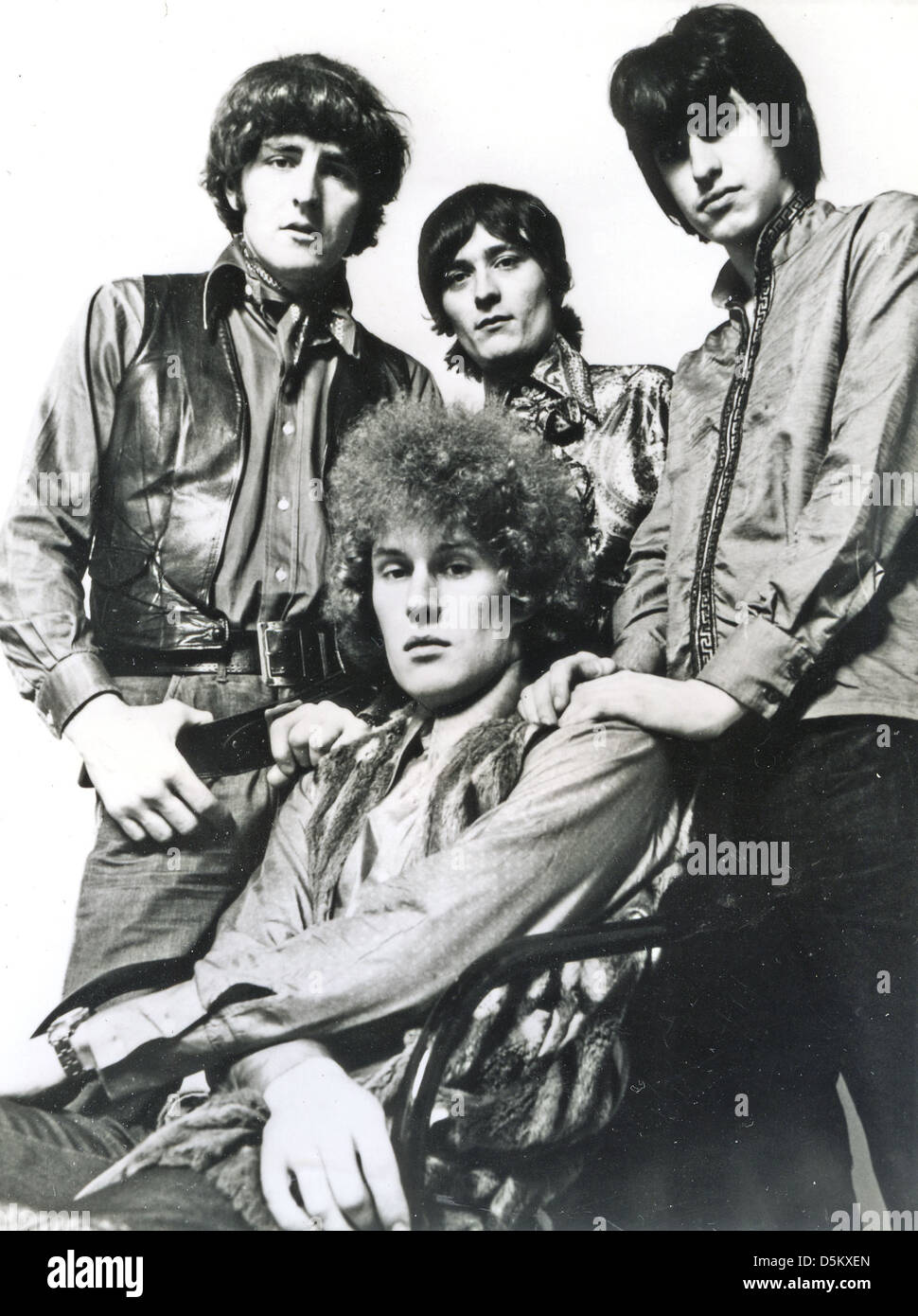 TEN YEARS AFTER  Promotional photo of UK Blues-Rock group about 1968 - Stock Image
