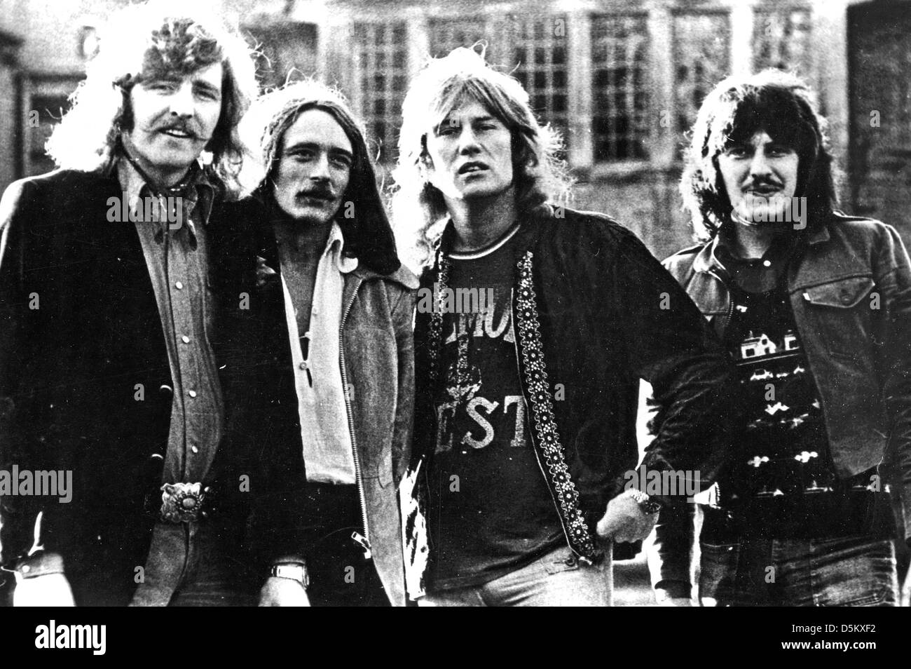 TEN YEARS AFTER Promotional photo of UK Blues-Rock group about 1975 - Stock Image