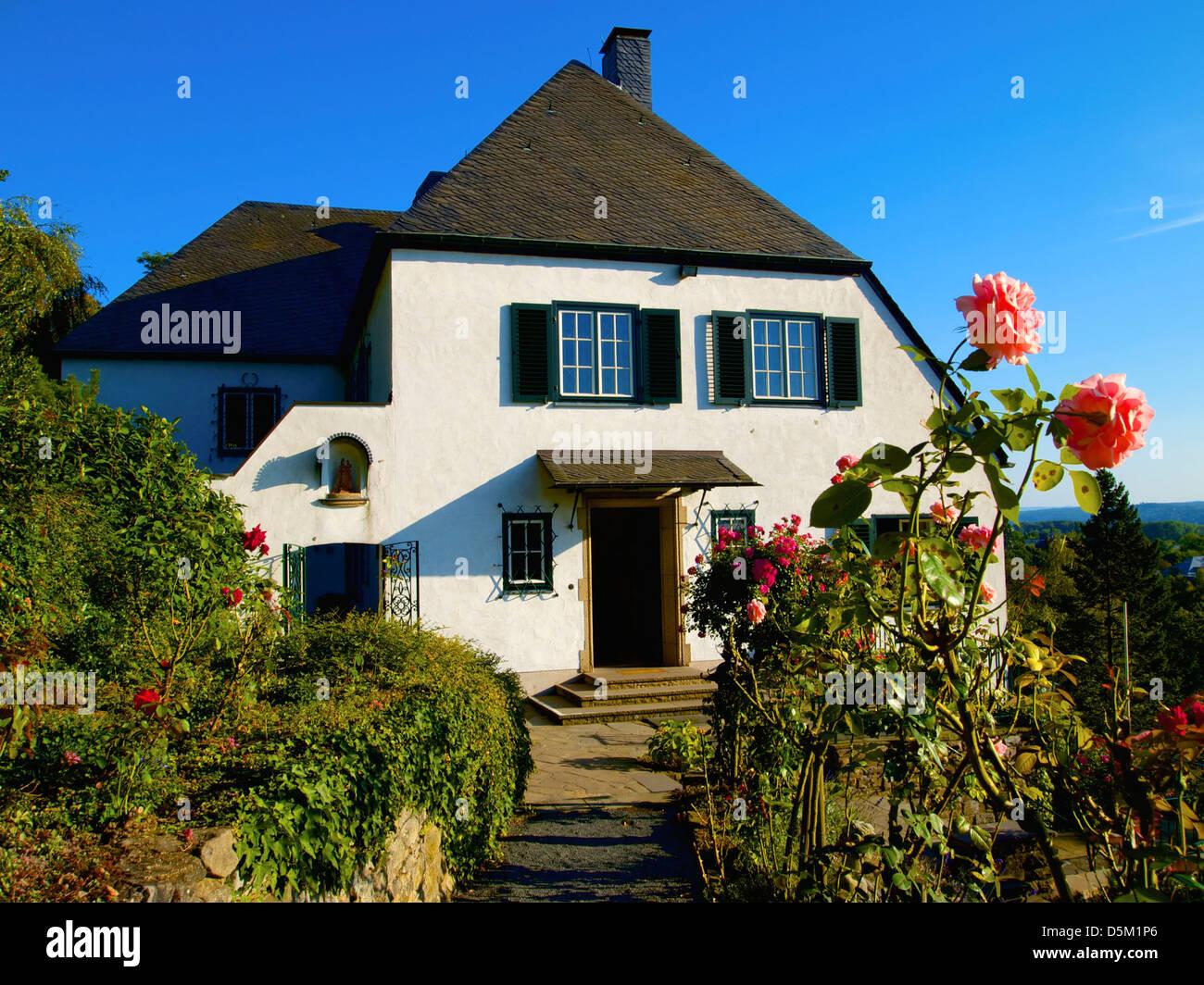 adenauer house, bad honnef-rhöndorf, rhein-sieg district, nordrhein-westfalen, germany Stock Photo