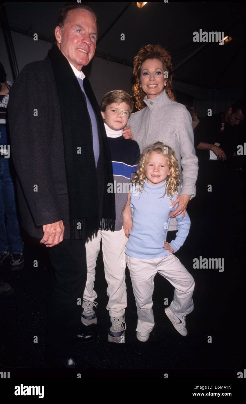 Kathie Lee Gifford With Husband Frank Gifford And Their Children