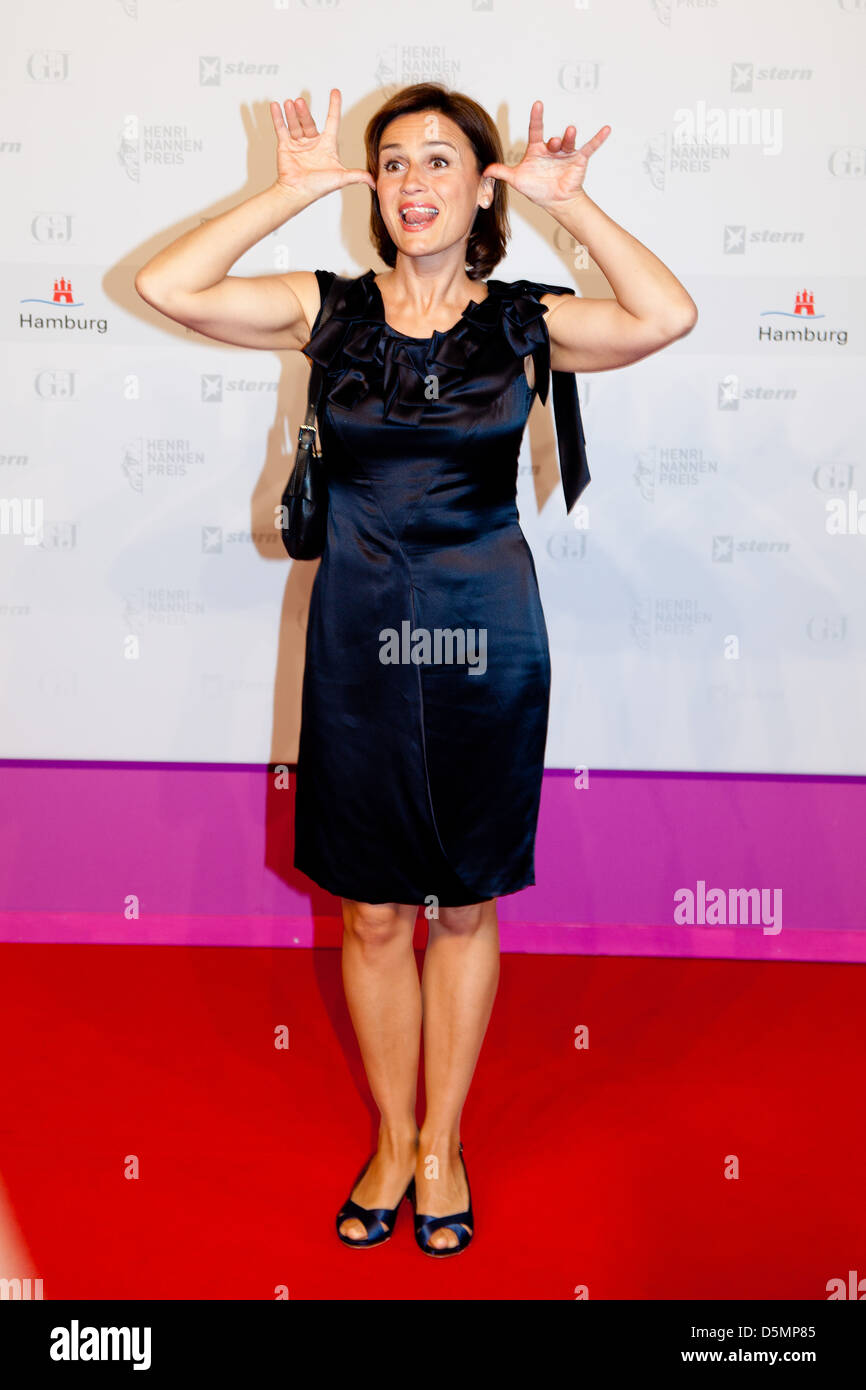 Sandra Maischberger at the Henry Nannen Preis award at Hamburger Schauspielhaus. Hamburg Germany Eva Stock Photo