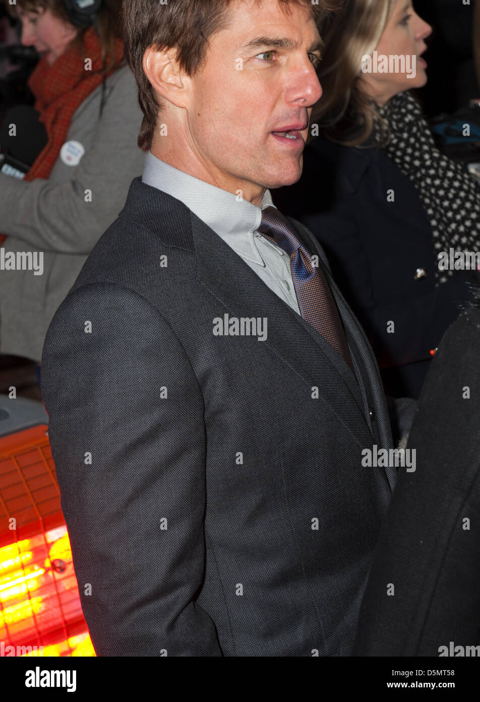 London BFi i Max, 4th Apri 2013, Tom Cruise attends Oblivion Uk Premiere  BFi  Imax, South Bank  London. - Stock Image
