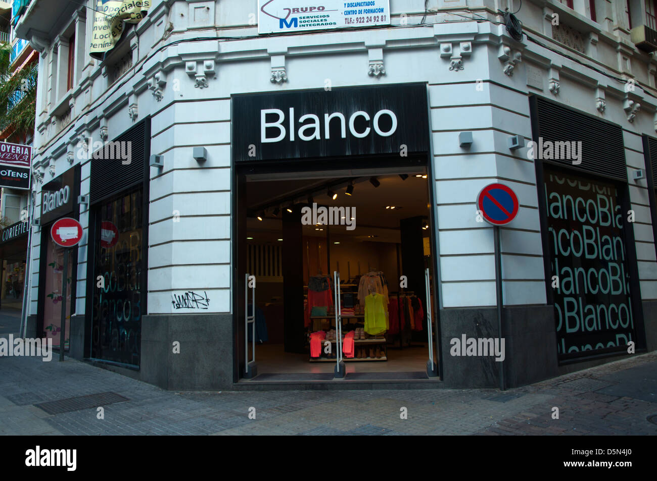 Chain clothing stores
