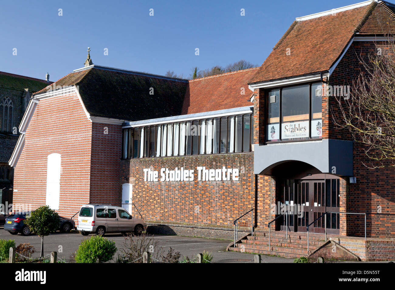 The Stables Theatre, Hastings, East Sussex - Stock Image