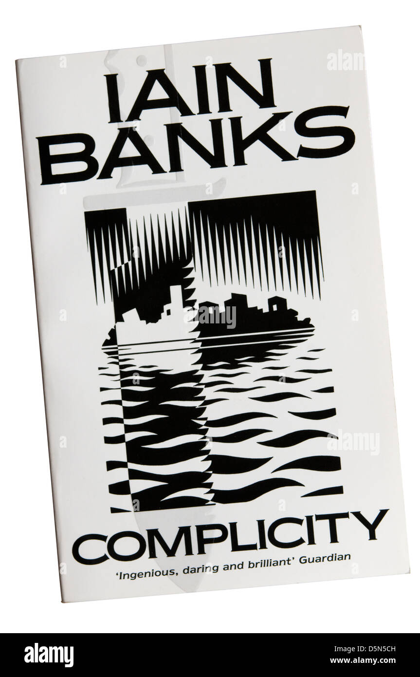 Complicity by Iain Banks was first published in 1986. Stock Photo