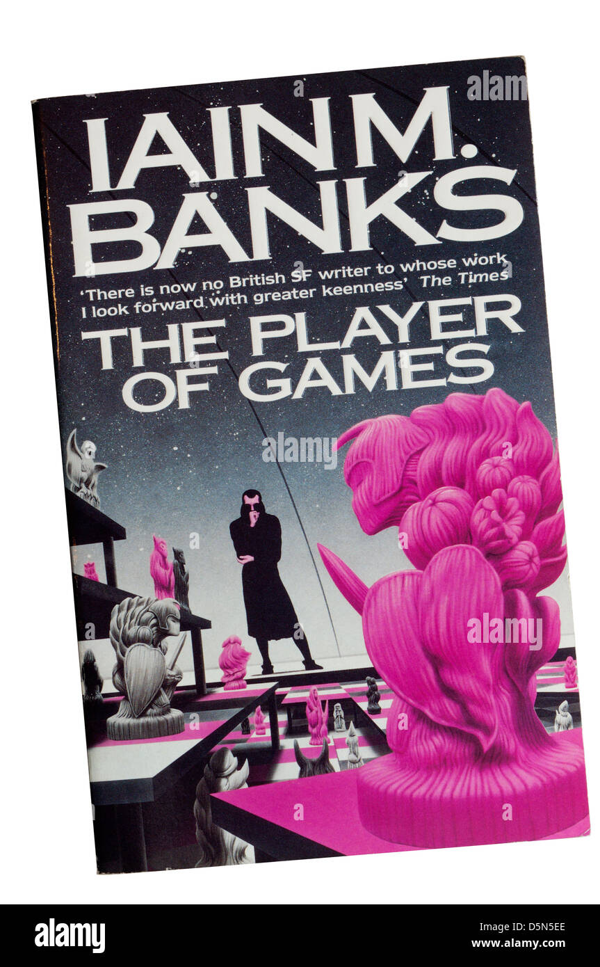 The Player of Games by Iain M. Banks, the second in the Culture series of science-fiction stories. - Stock Image