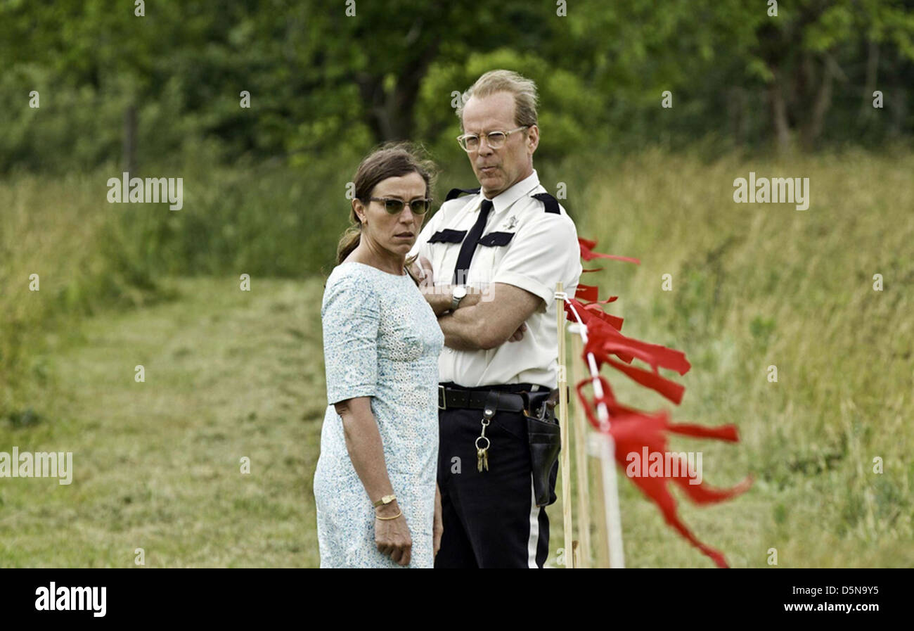 MOONRISE KINGDOM 2012 Focus Features film with Frances McDormand and Bruce Willis - Stock Image