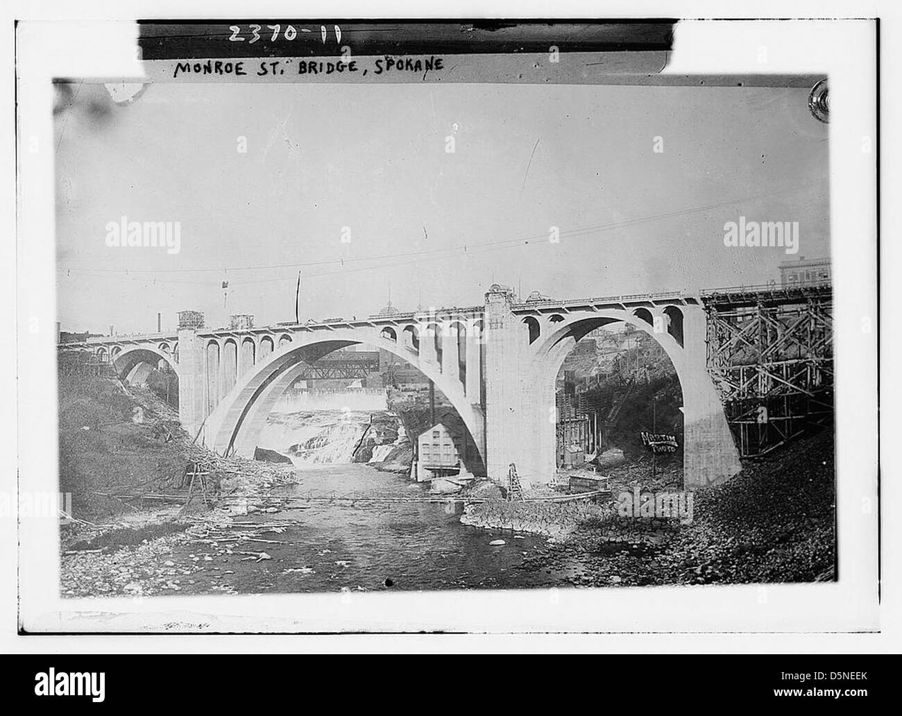 Monroe St. Bridge, Spokane (LOC) - Stock Image