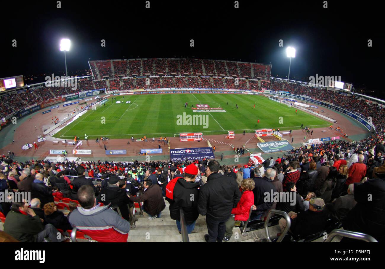 Real Mallorca soccer club stadium at Palma de Mallorca - Stock Image