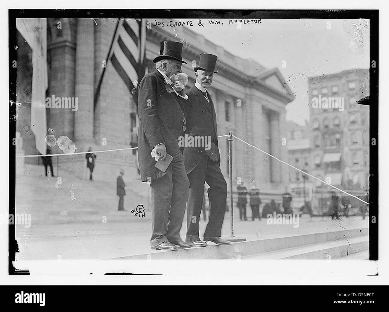 Jos. Choate & Wm. Appleton (LOC) - Stock Image