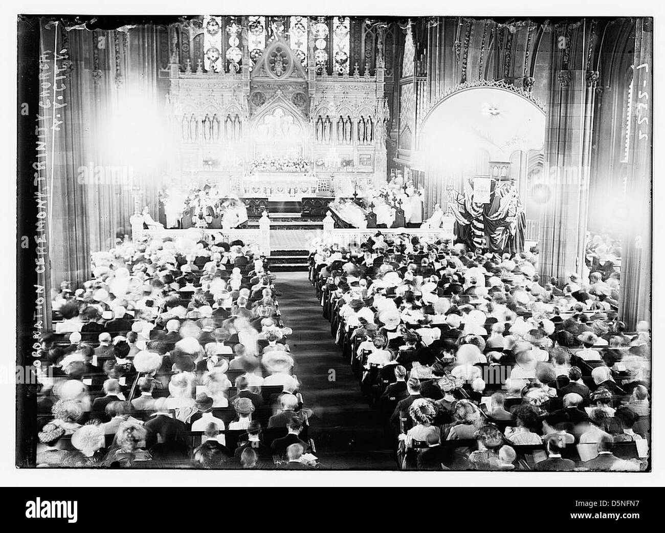 [Cathedral] Episcopal Trinity - Coronation Ceremony (LOC) - Stock Image
