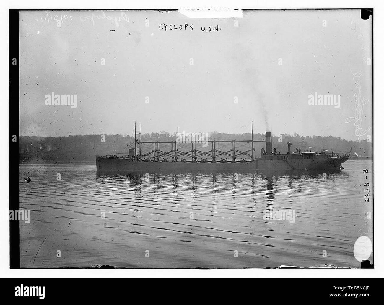 CYCLOPS U.S.N. (LOC) - Stock Image