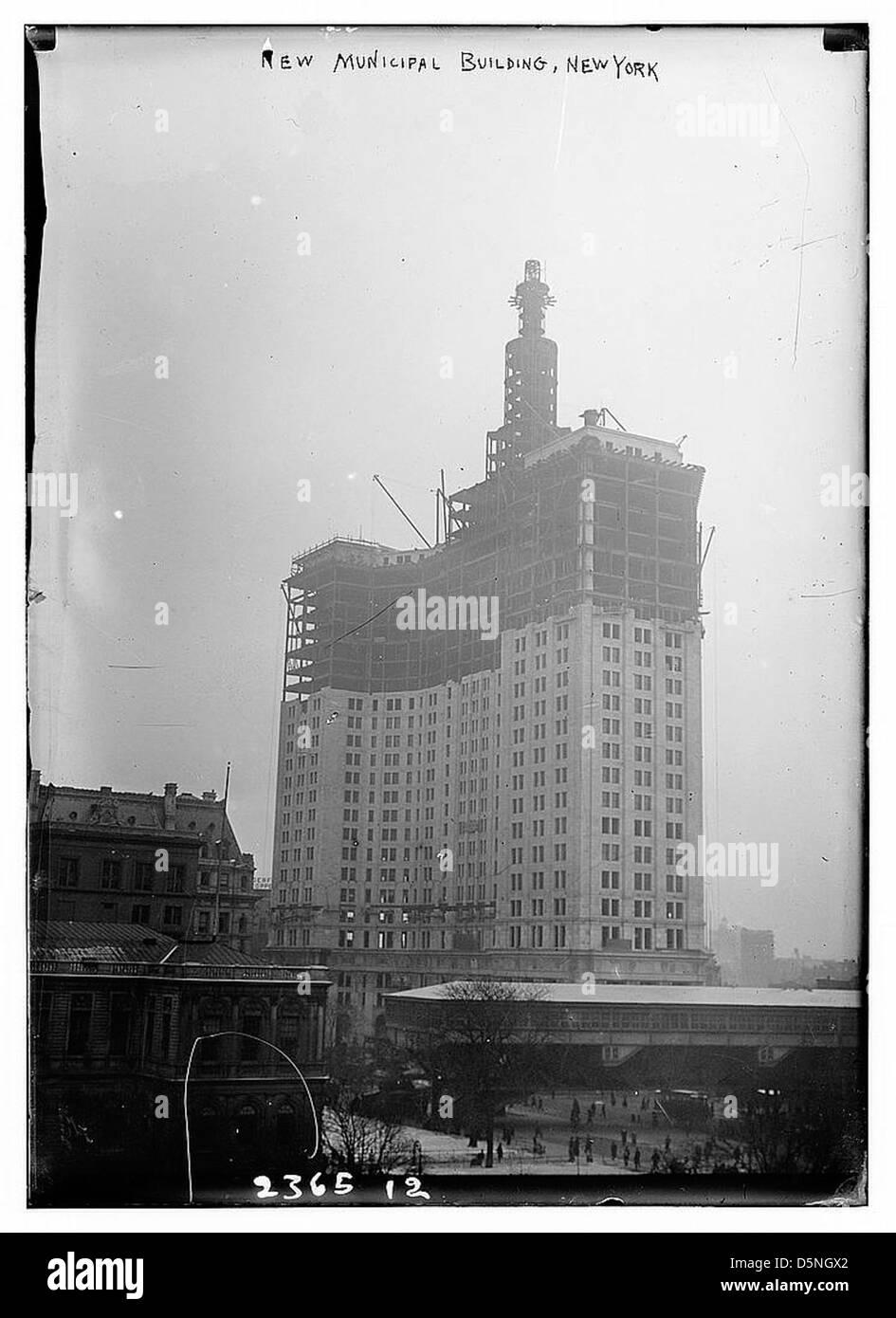 New Municipal Bldg. N.Y. (LOC) - Stock Image
