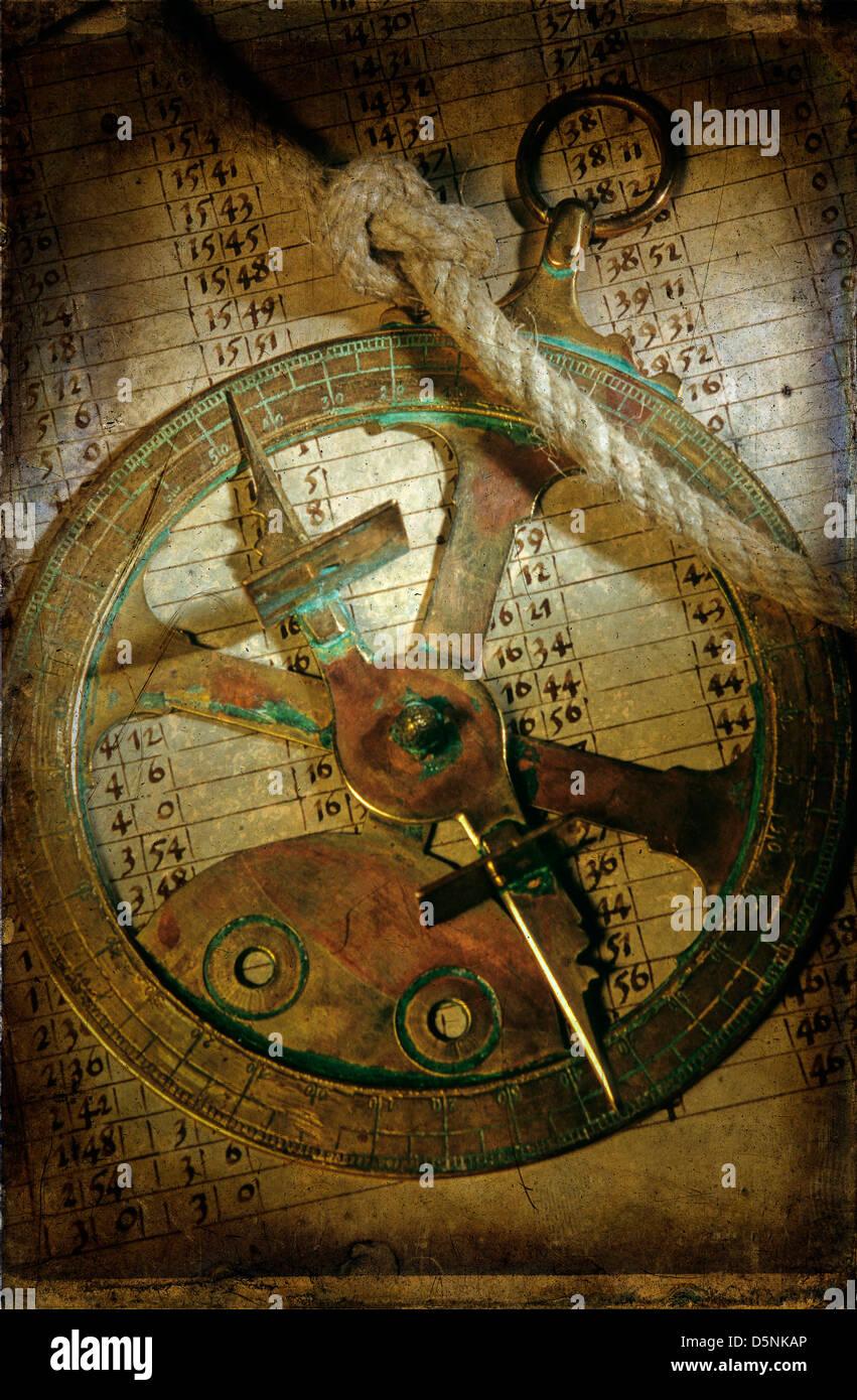 Historical navigation Stock Photo