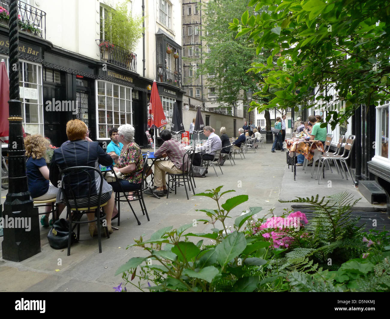 Woburn Walk in Bloomsbury, London, UK. - Stock Image