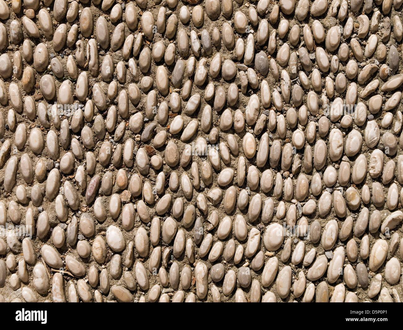 Stony soil texture - Stock Image