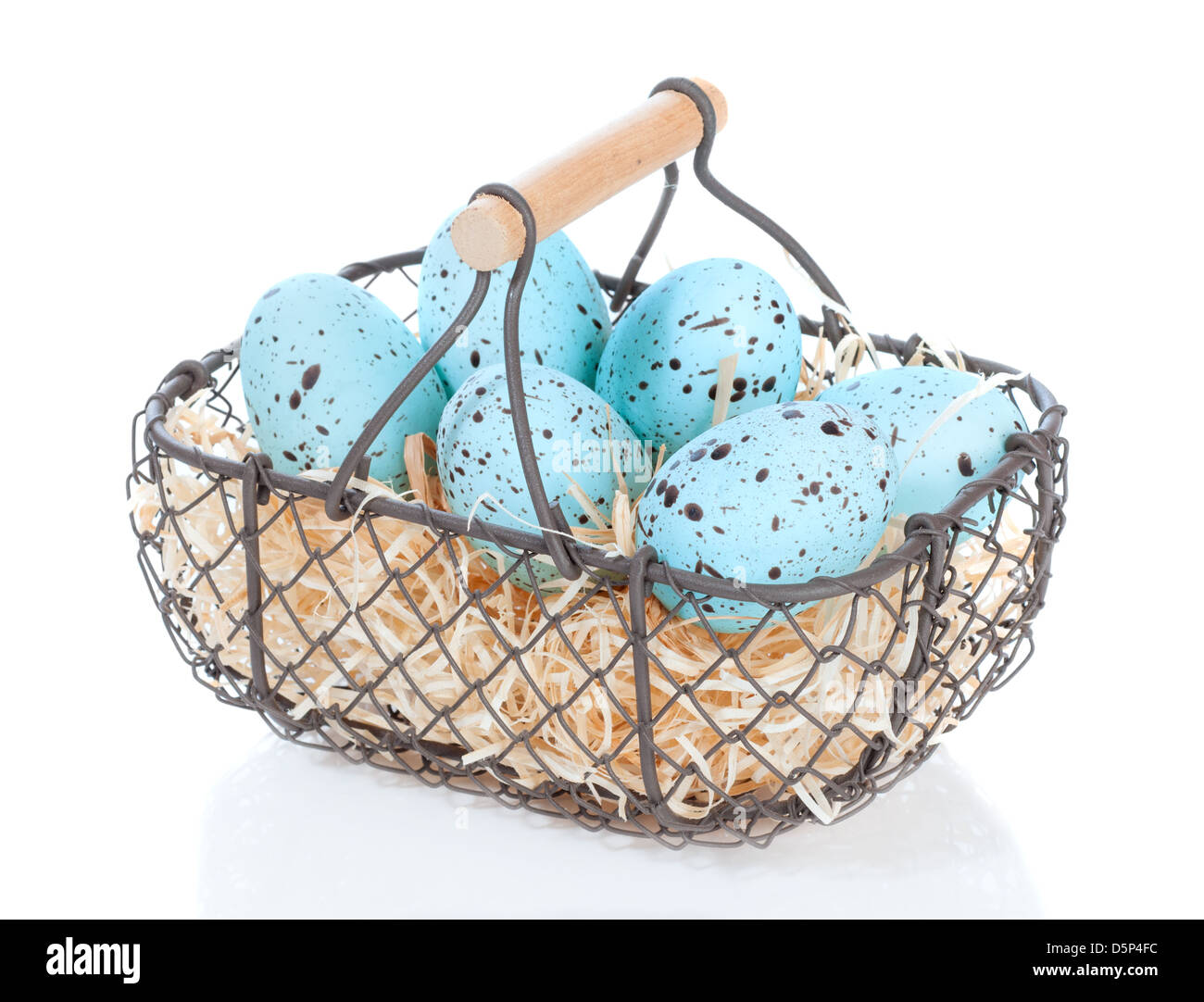 Duck Egg Basket Stock Photos & Duck Egg Basket Stock Images - Alamy