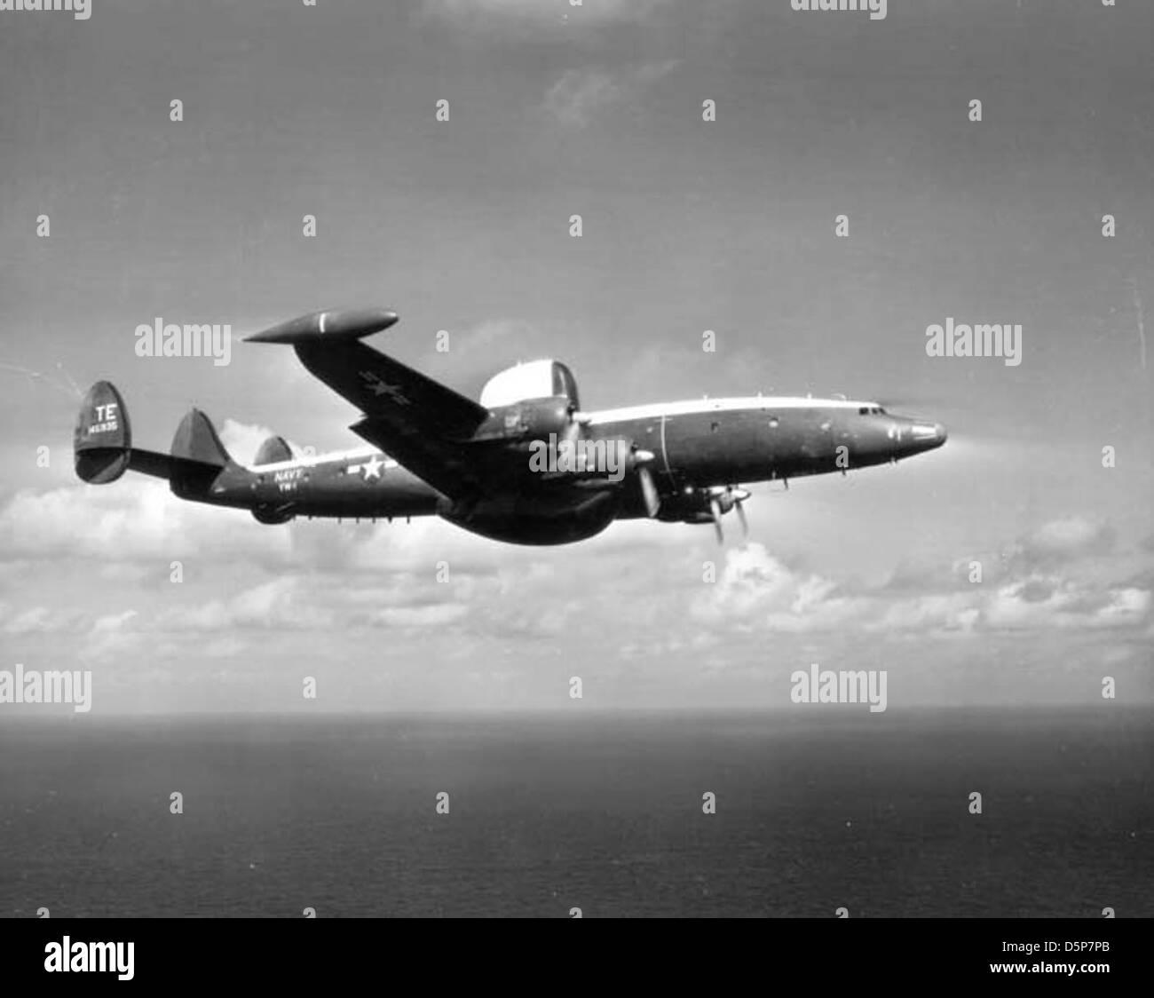 VW-1 TE-1 IN-FLIGHT WEB - Stock Image