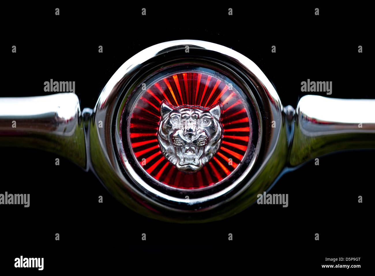 Jaguar emblem - Stock Image