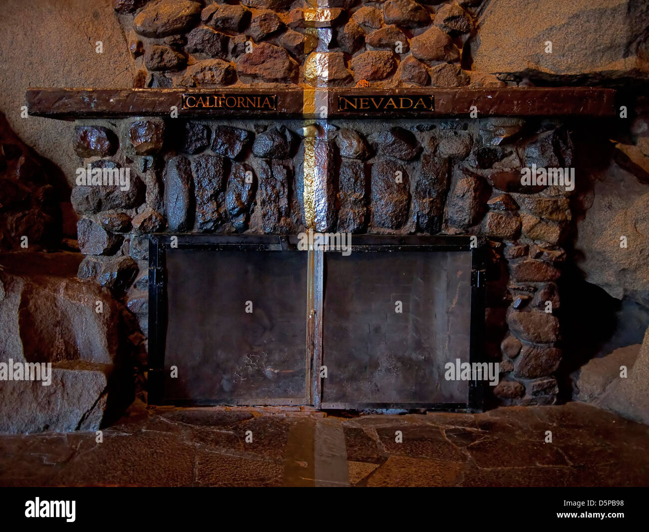 Cal Neva - Stock Image