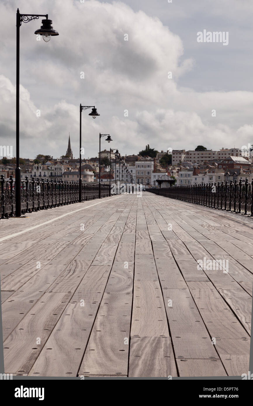 Ryde pier, Isle of Wight - Stock Image