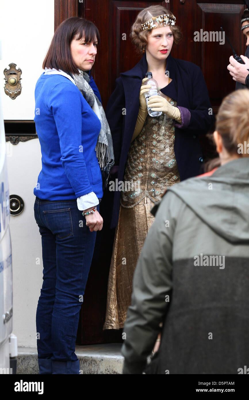 Downton Abbey British Period Drama Stock Photos & Downton