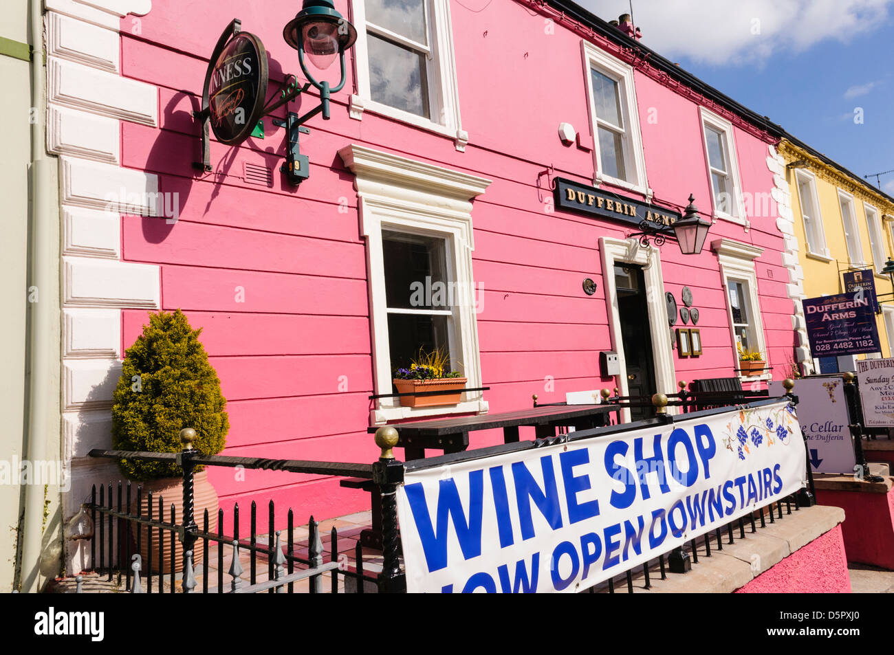 Dufferin Arms, Killyleagh - Stock Image