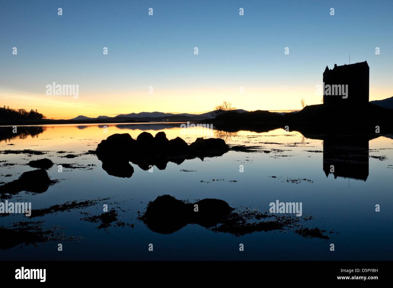 Stalker Castle - Stock Image