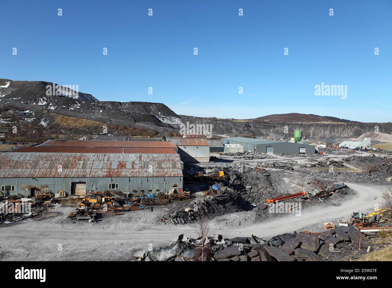 Penrhyn Quarry Stock Photos & Penrhyn Quarry Stock Images - Alamy