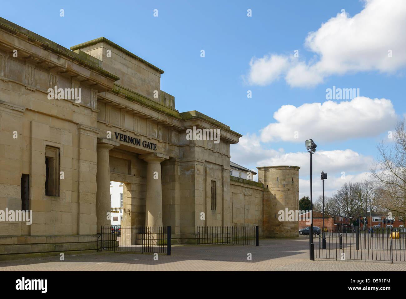 Vernon Gate Derby UK - Stock Image