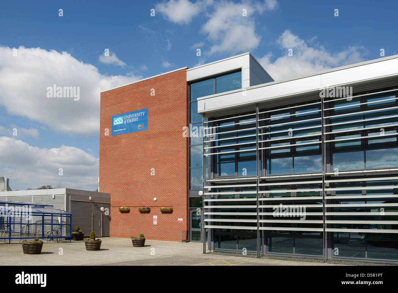 Faculty of Arts Design and Technology University of Derby UK - Stock Image