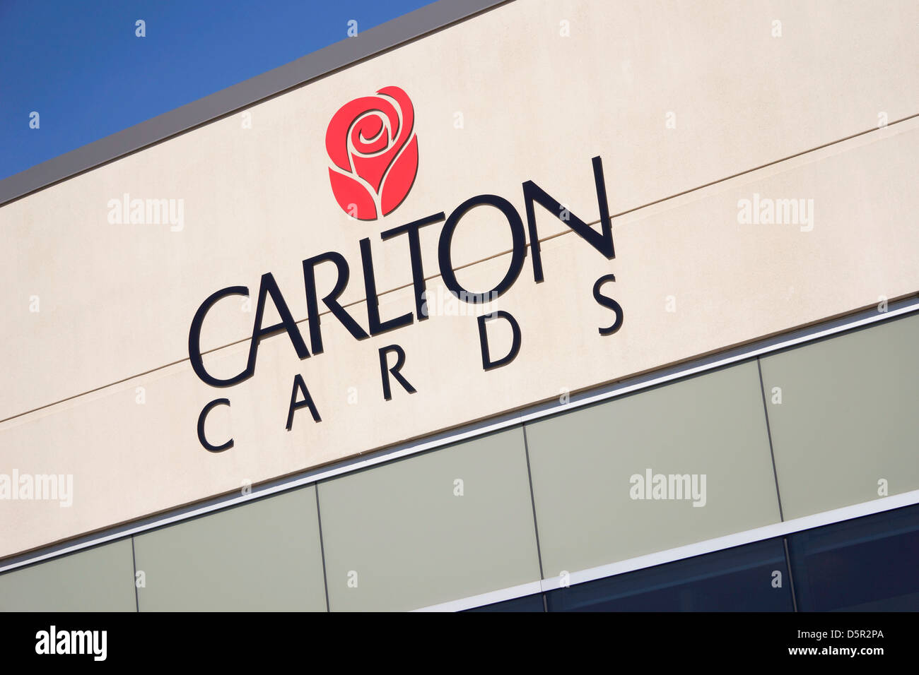 Carlton Cards Sign, Logo - Stock Image