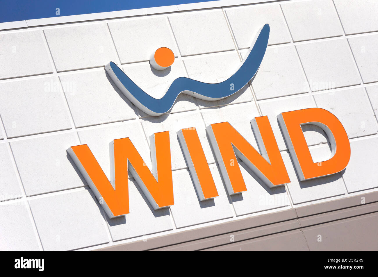 WIND, Wireless Mobile Telecommunications provider, Canada - Stock Image