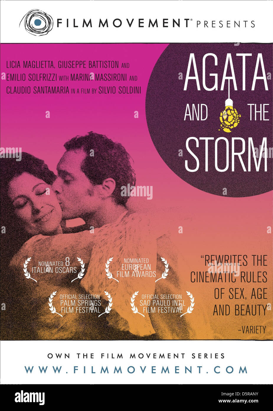 MOVIE POSTER AGATA AND THE STORM (2004) - Stock Image