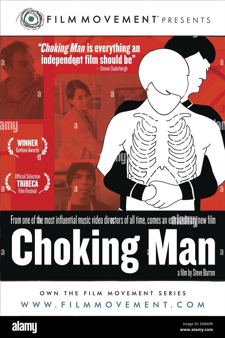 HEIMLICH MANOEUVRE MOVIE POSTER CHOKING MAN (2006) - Stock Image