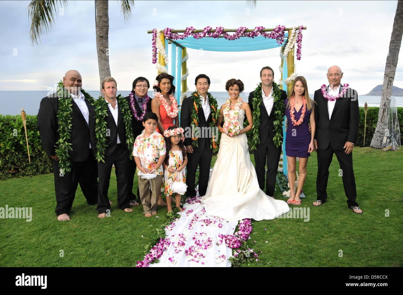 TAYLOR WILY SCOTT CAAN MASI OKA GRACE PARK DANIEL DAE KIM REIKO AYLESWORTH ALEX O'LOUGHLIN LAUREN GERMAN & - Stock Image
