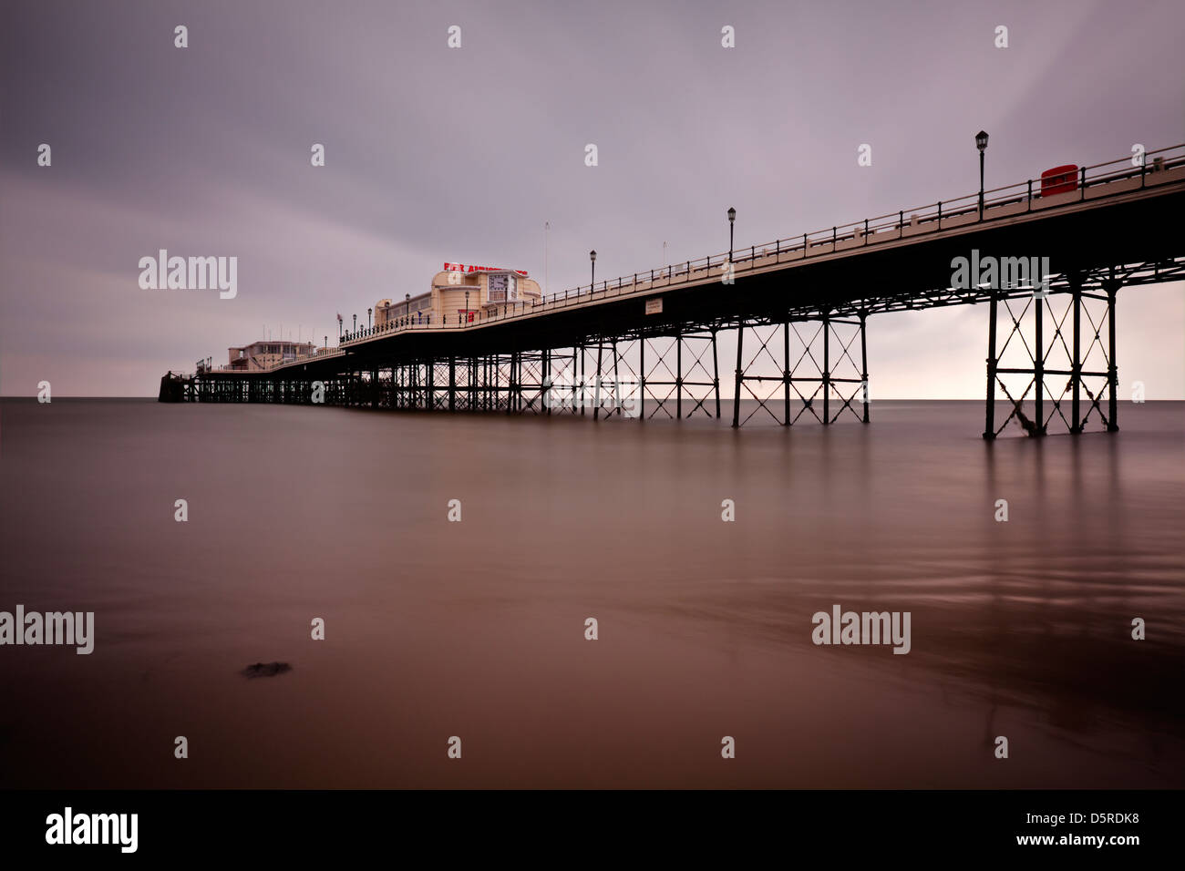 Worthing Pier, Sussex, England - Stock Image