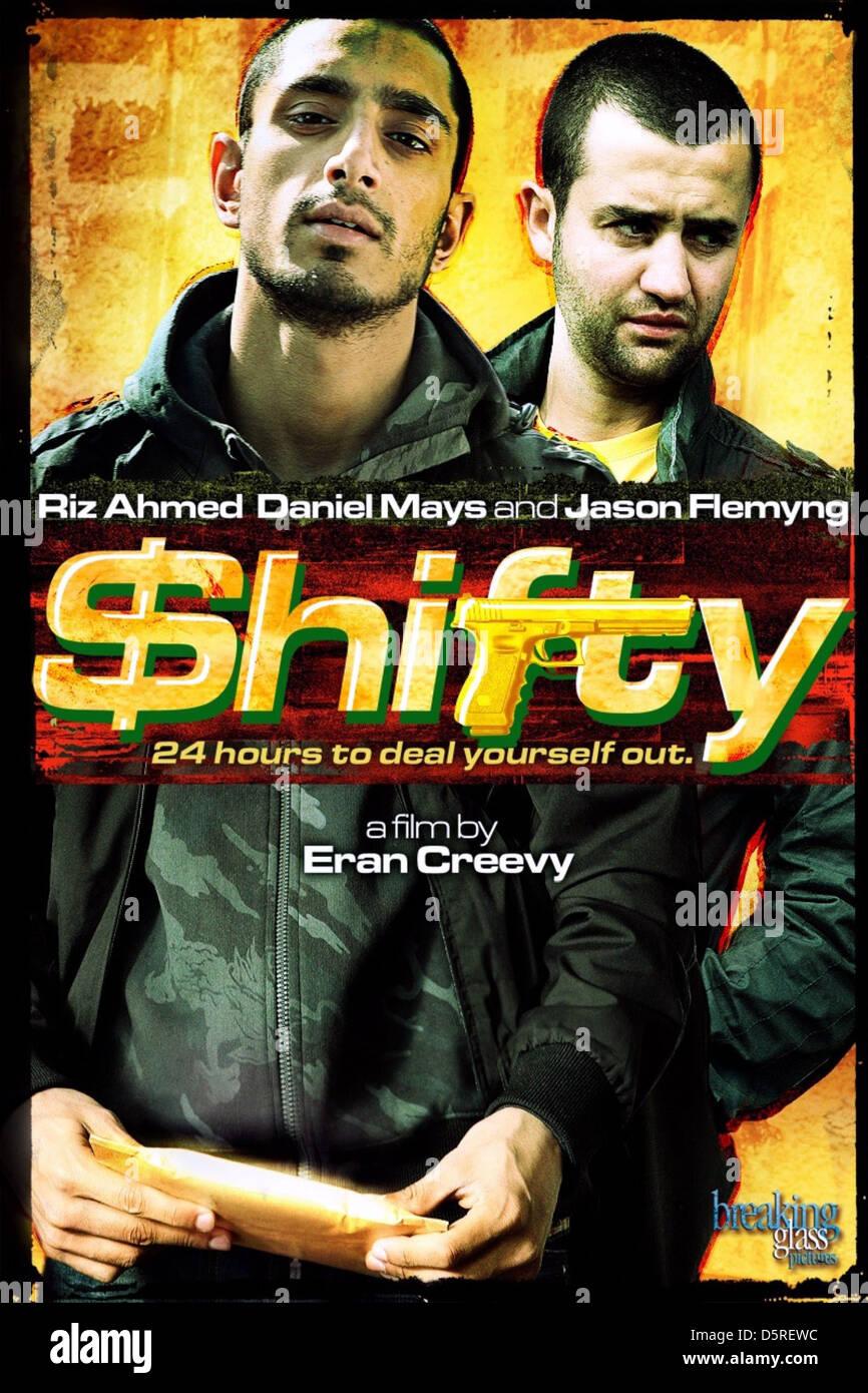 RIZ AHMED & DANIEL MAYS POSTER SHIFTY (2008) - Stock Image