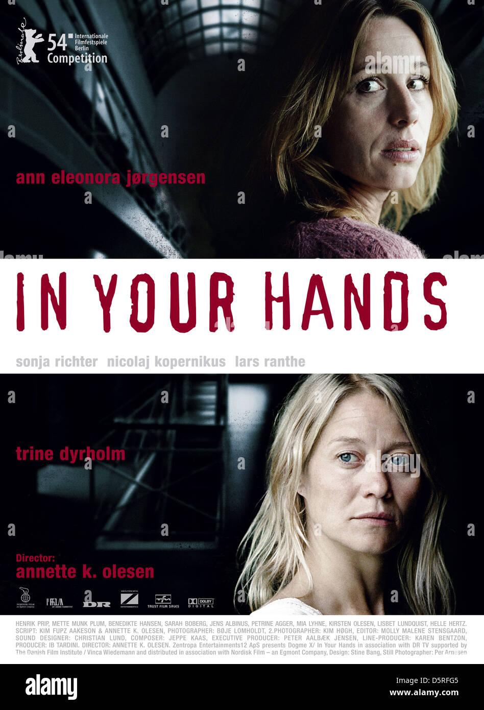 ANN ELEONORA JORGENSEN & TRINE DYRHOLM POSTER IN YOUR HANDS; FORBRYDELSER (2004) - Stock Image