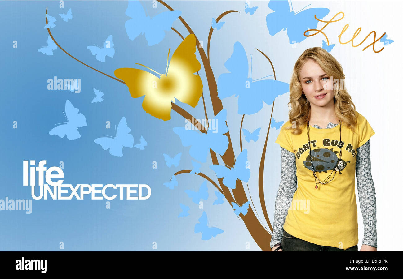 BRITTANY ROBERTSON POSTER LIFE UNEXPECTED (2010) - Stock Image