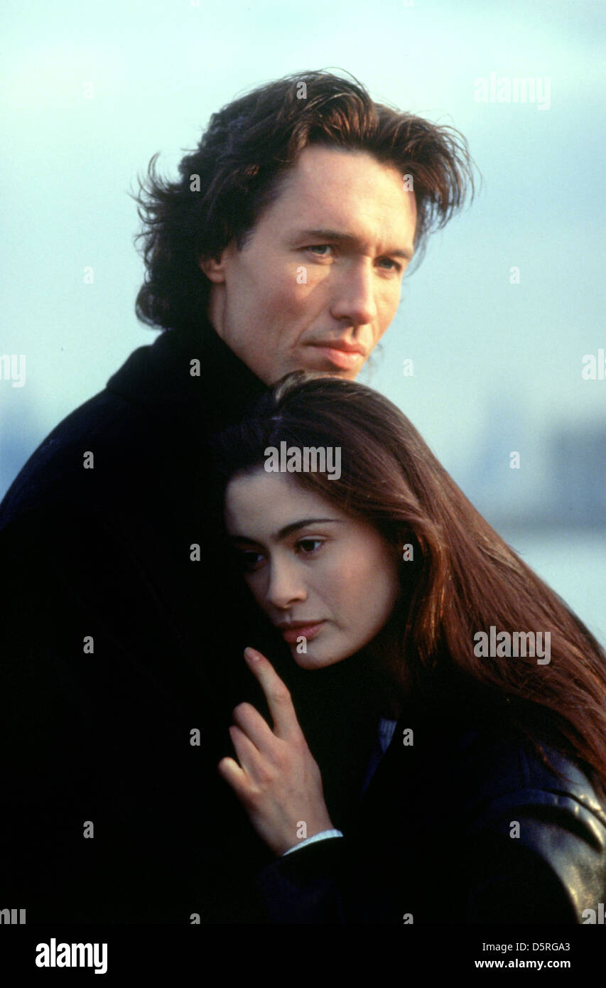 THOMAS IAN GRIFFITH, CHARLOTTE LEWIS, EXCESSIVE FORCE, 1993 - Stock Image