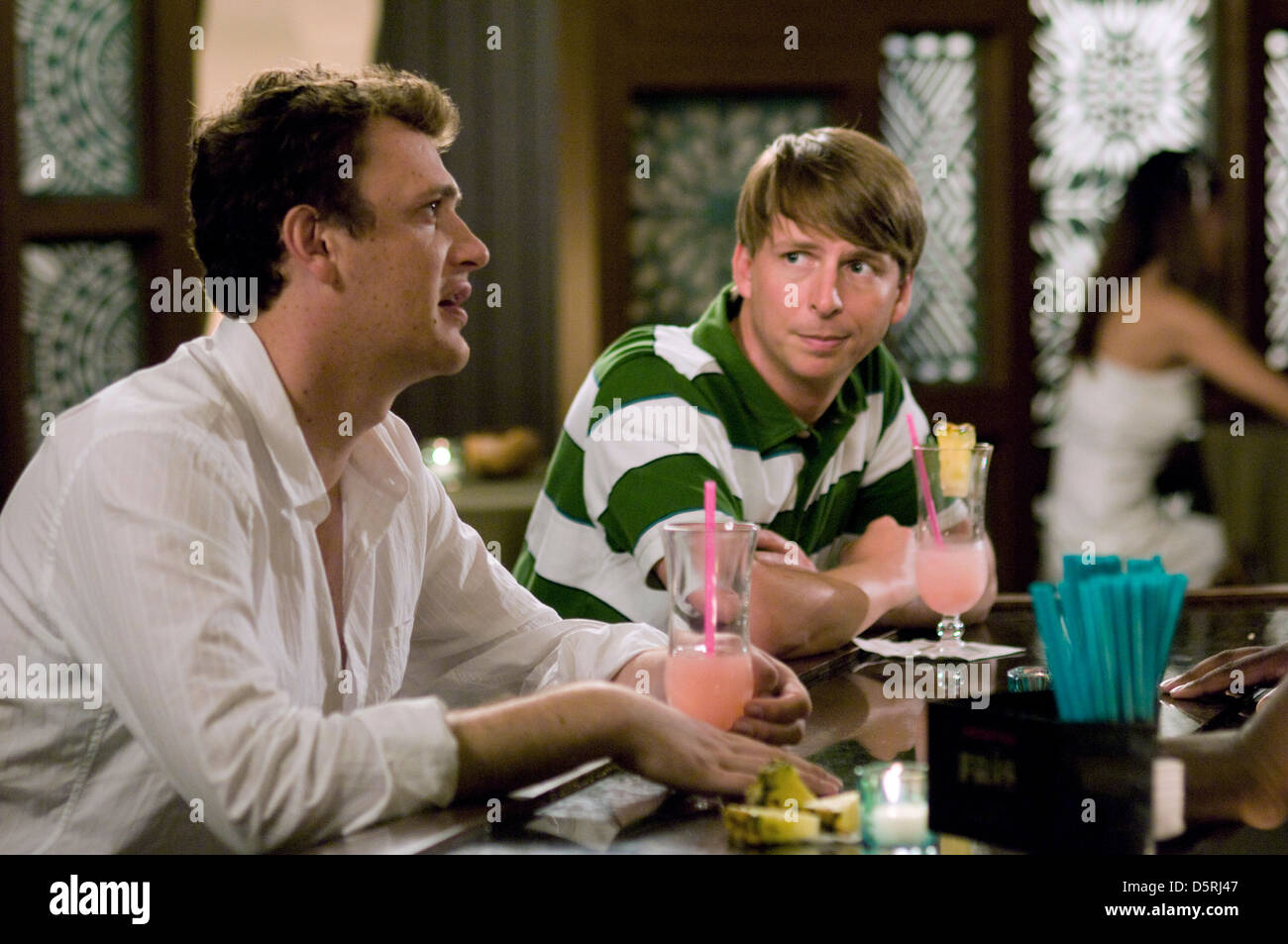 Jason Segel Jack Mcbrayer Forgetting Sarah Marshall 2008 Stock