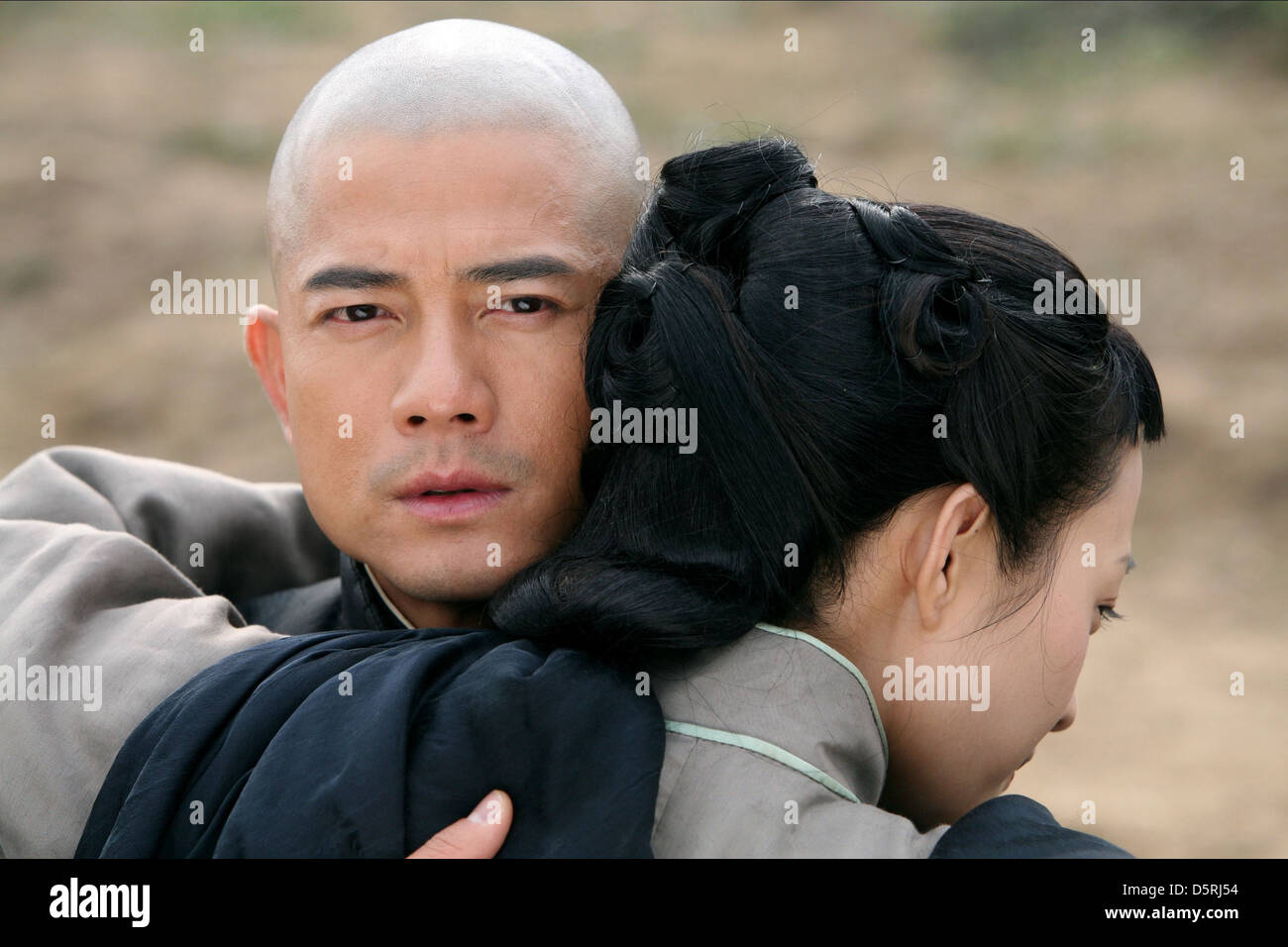 AARON KWOK & LEI HAO EMPIRE OF SILVER (2009) - Stock Image