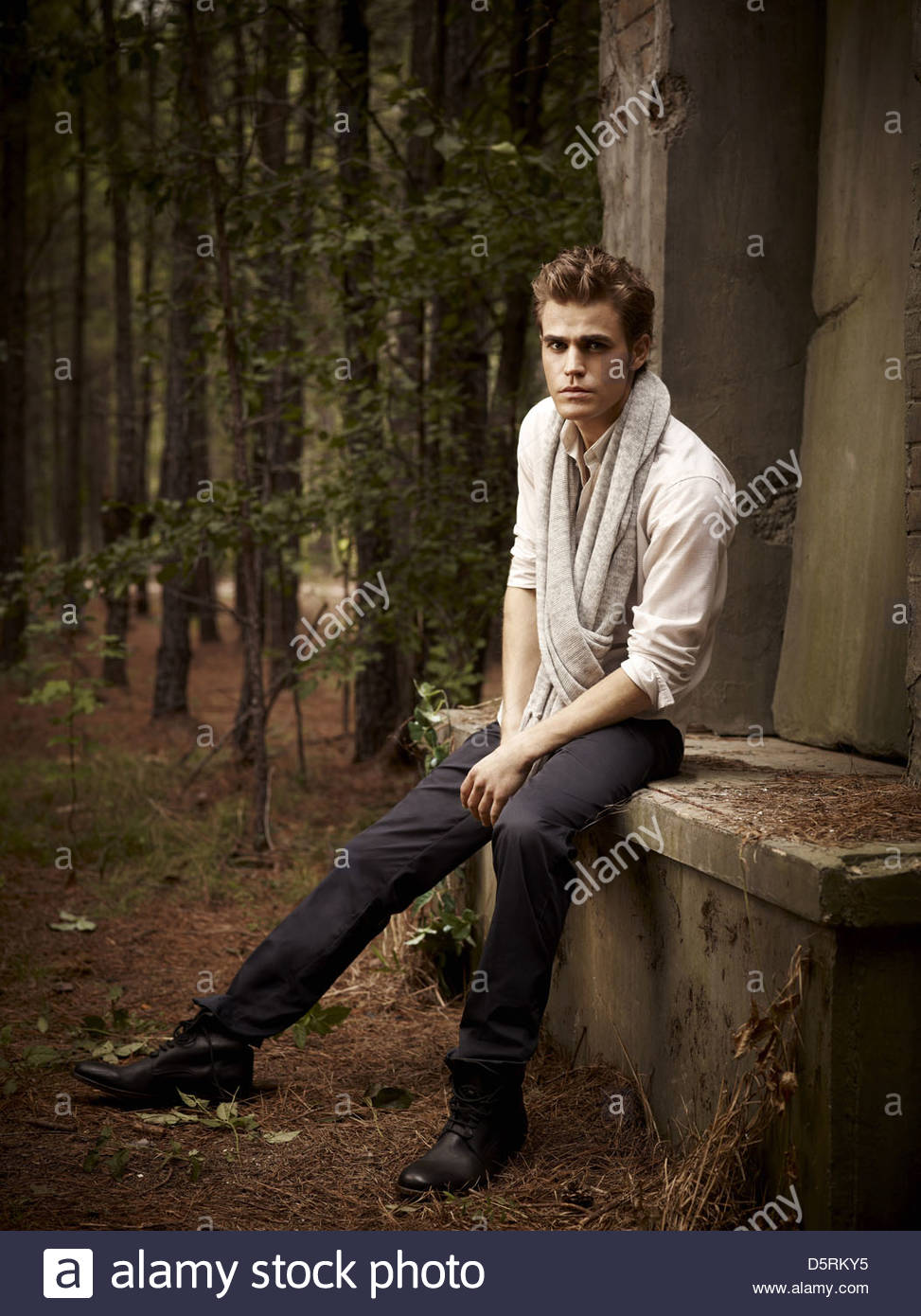 PAUL WESLEY THE VAMPIRE DIARIES (2009) - Stock Image
