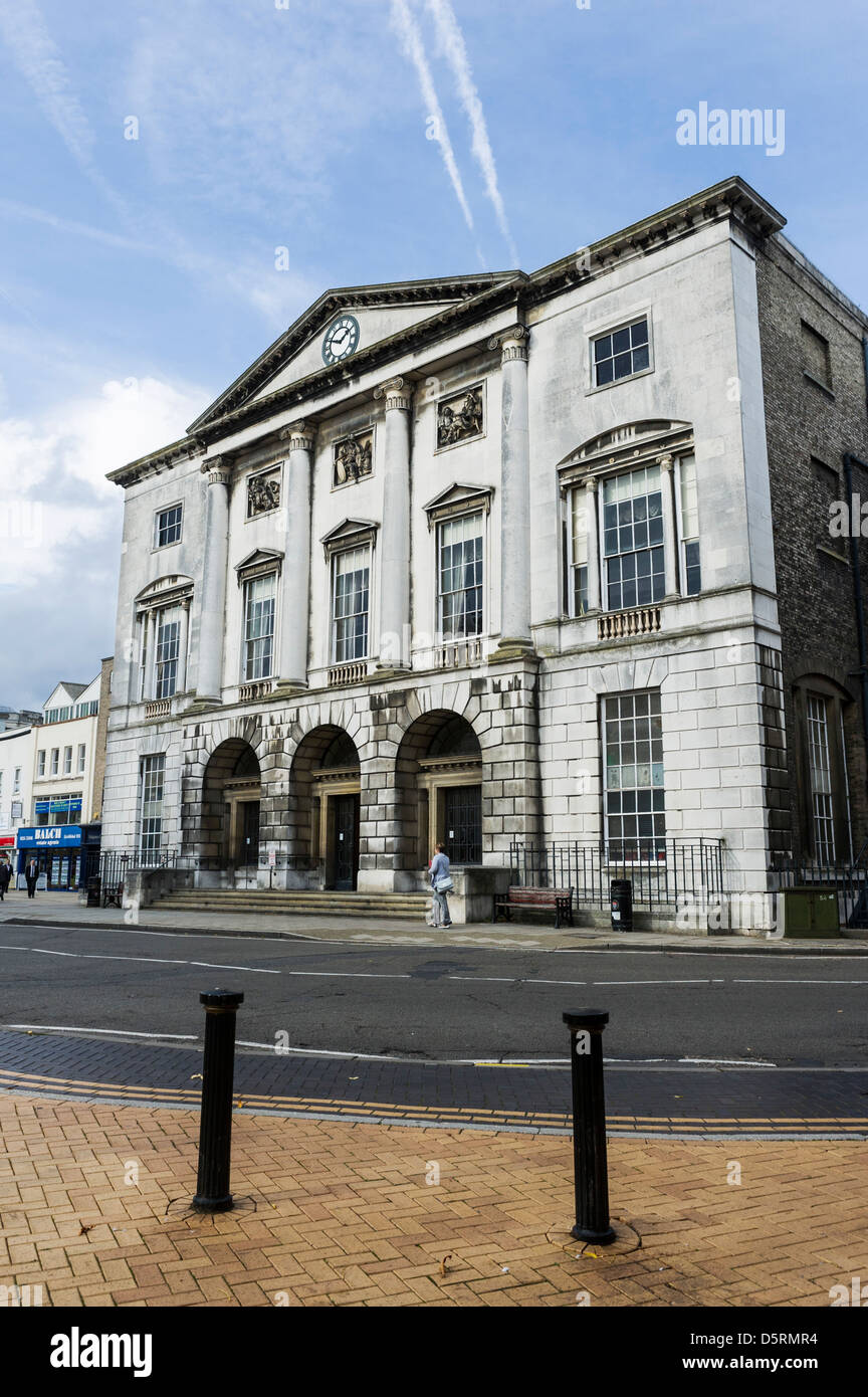 Shire Hall in Tindal Square in Chelmsford, Essex, UK - Stock Image